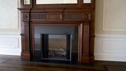 Dinningroom fireplace